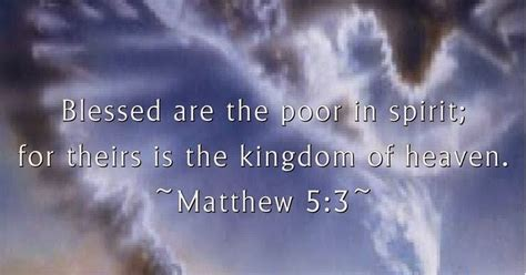 quot blessed are the poor quotes and sayings blessed are the poor in spirit