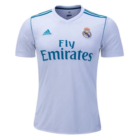 Jersey Madrid Home 2017 jersey real madrid home 2017 2018 jersey bola grade ori