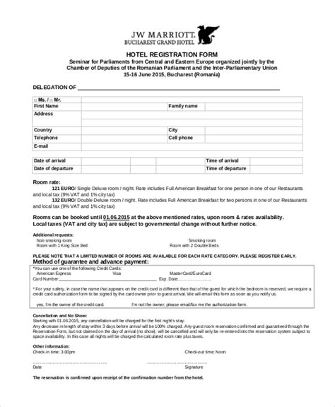 Free Vendor Registration Form Template By 123contactform Autos Post Free Hotel Registration Form Template