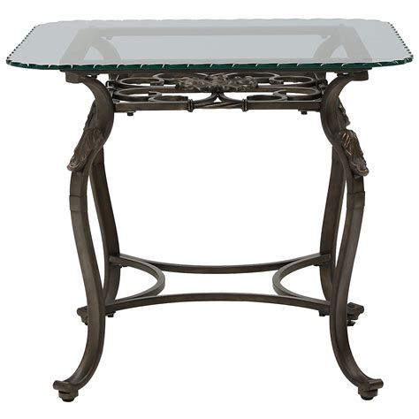 square glass end table westcot2 glass square end table