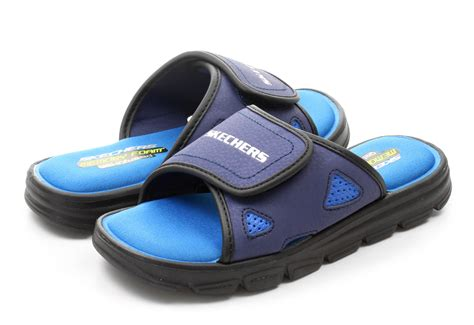 skechers house shoes skechers slippers cross shore 97102l nvbl online shop for sneakers shoes and boots