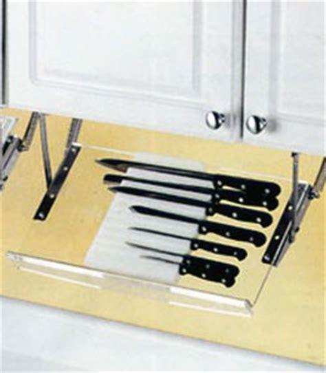 cabinet knife rack in kitchen utensil holders