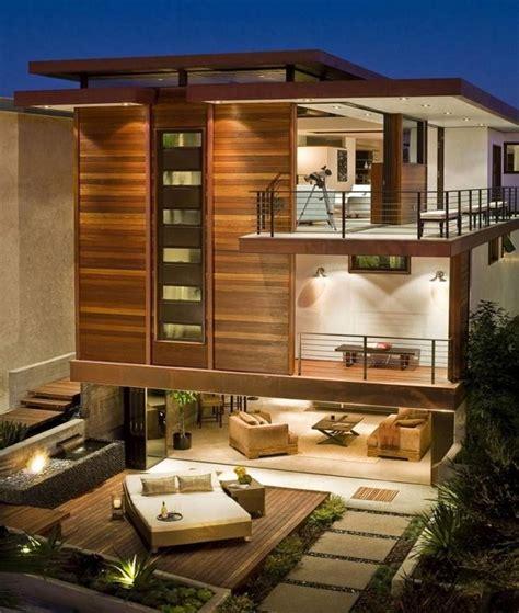 1000 Ide Tentang Rumah Kontemporer Di Pinterest Denah