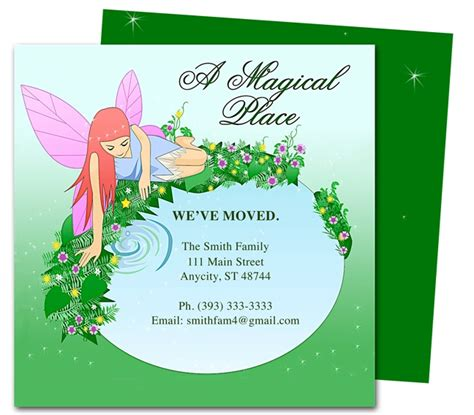 we ve moved template 14 best images about moving announcements new address