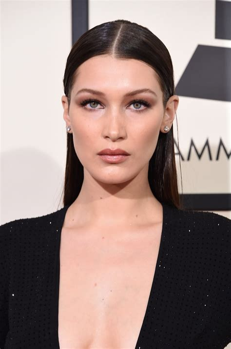 bella hadid bella hadid every gorgeous beauty look from the grammys