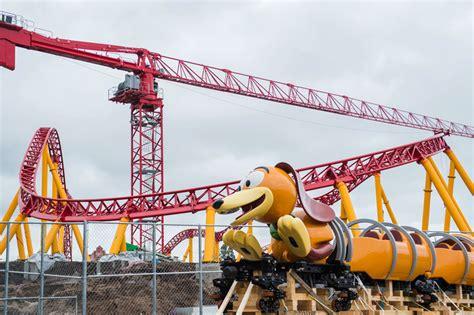 Backyard Coaster Toy Story Land Welcomes Slinky Dog Roller Coaster Cars