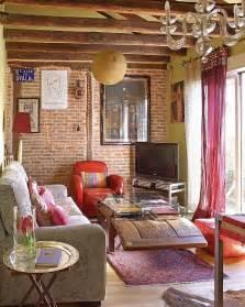 chic bohemian attic apartment in madrid 171 interior design