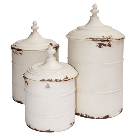 country kitchen canister set 3 lucia canister set country charm on wayfair in