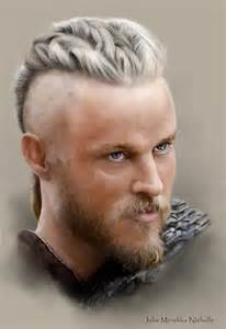 what is going on with travis fimmels hair in vikings no spoilers ragnar lothbrok travis fimmel by julie