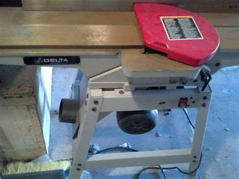 bench jointer uses delta 6 bench jointer espotted