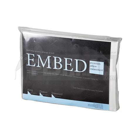 bed bug pillow encasements buy embed pillow encasement standard size to get rid of
