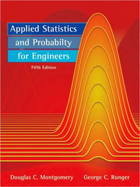 Foundation Applied Statistics applied statistics and probability for engineers 5th