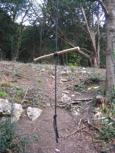 rope swing tree rope swing bristol united kingdom uk