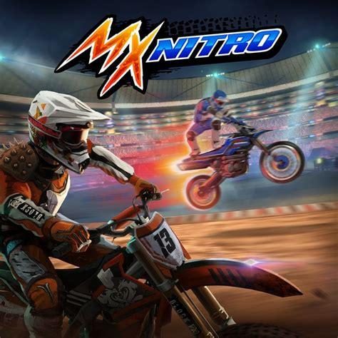Pc Original Mx Nitro Steam mx nitro 2017 playstation 4 box cover mobygames