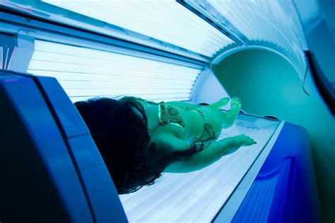 girls in tanning beds skin cancer screening sun precautions and uv exposure