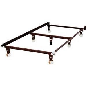 Bed Frame Rollers Knickerbocker Bed Frame With Rug Rollers Walmart
