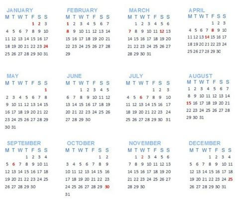 Calendar In Mauritius Holidays 2016 2017 With Calendar
