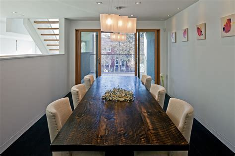 glass top rectangular dining table Dining Room