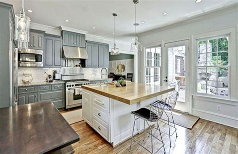 gorgeous contrasting kitchen island ideas pictures