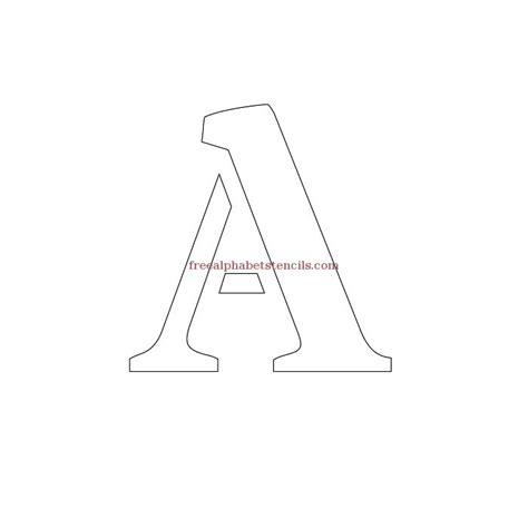 free printable bold letter stencils army bold alphabet stencils freealphabetstencils com