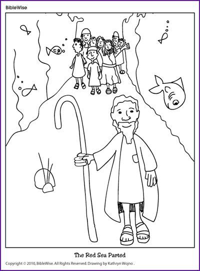 Parting Of The Red Sea Coloring Page 1000 Ideas About Parting Of The Sea Coloring Page