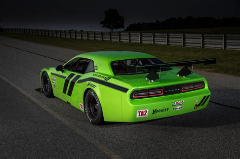 Dodge Racing Cars by 2014 Dodge Challenger Srt Race Cars Revealed Motor Trend Wot