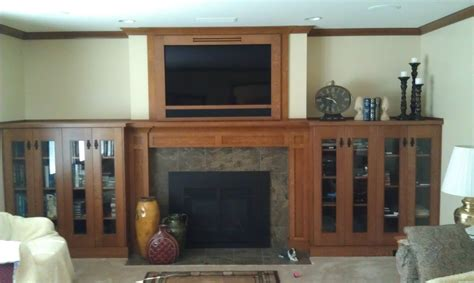 craftsman fireplace mantels ridge cabinets craftsman oak fireplace mantel and