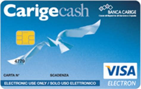 carige on line business carta di pagamento carigecash