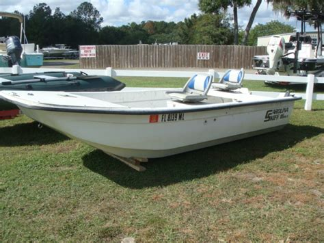 carolina skiff guide boat carolina skiff 16 dlx boats for sale