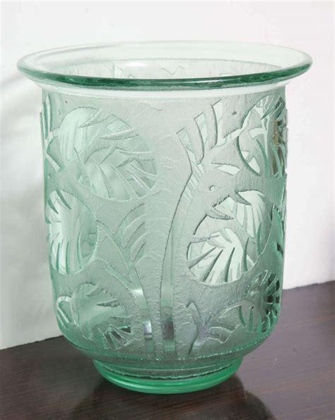 Vase Daum by Daum Nancy Deco Vase For Sale At 1stdibs