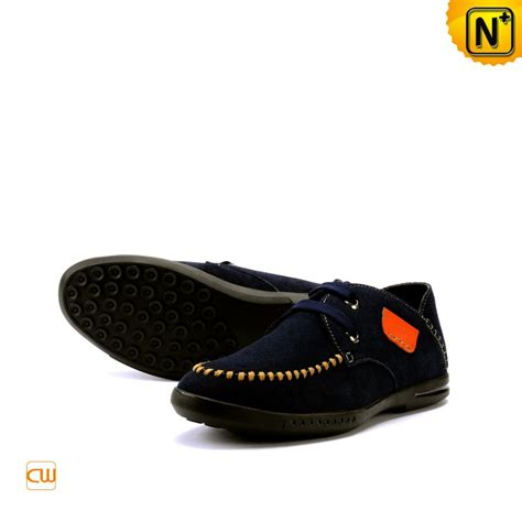 mens casual leather loafers shoes cwmalls