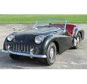 Scruffy 1959 Triumph TR3