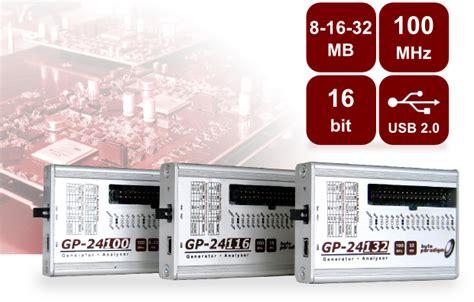 pattern generator logic analyzer gp 241xx series multi function digital pattern generator