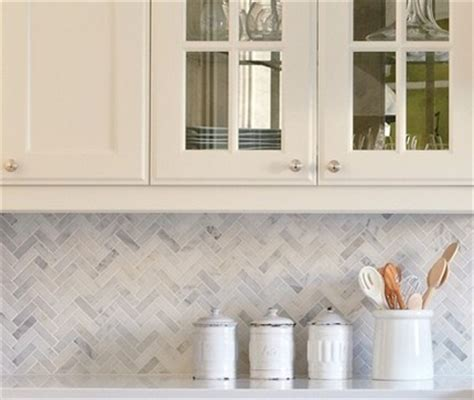 marble herringbone backsplash tile herringbone