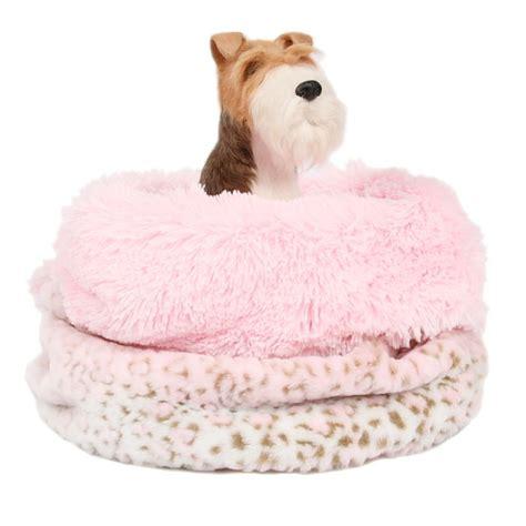 cuddle cup dog bed susan lanci cuddle cup pink lynx shag