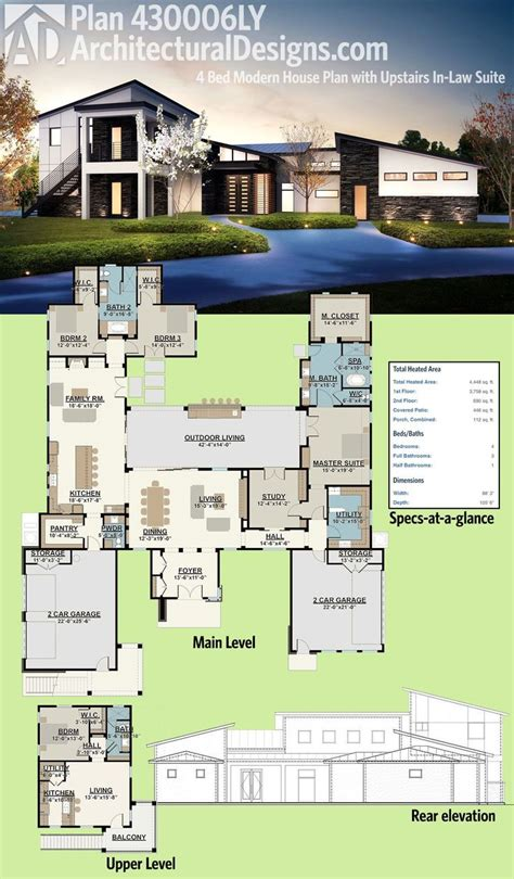 design of modern houses best 25 modern house plans ideas on pinterest modern