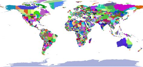 colorful world map clipart colorful world map