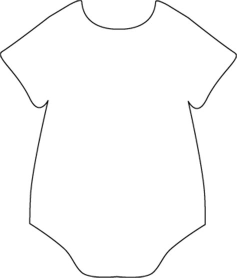 black and white onesie clip art black and white onesie image