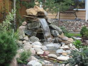 Small yard ponds and waterfalls pool design ideas