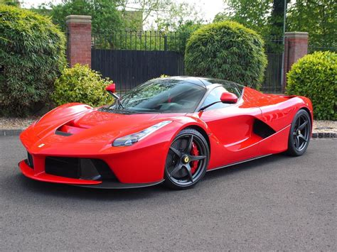 Ferrari Four by Ferrari Laferrari With Only 73 Miles For Sale In The Uk