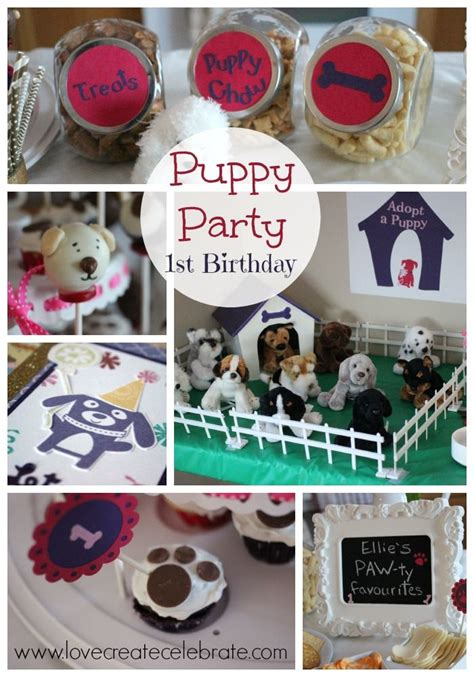 puppy themed names 1000 images about aubrey s first birthday on pinterest