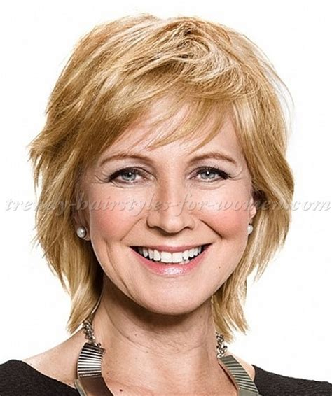hair styles for the over 50s heavily layered into the neck short haircuts for wavy hair and over 60 hairstyle