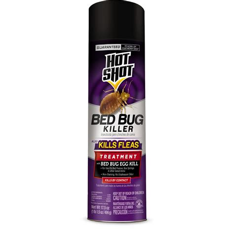bed bugs spray home depot hot shot bed bug and flea killer 17 5 oz aerosol spray hg