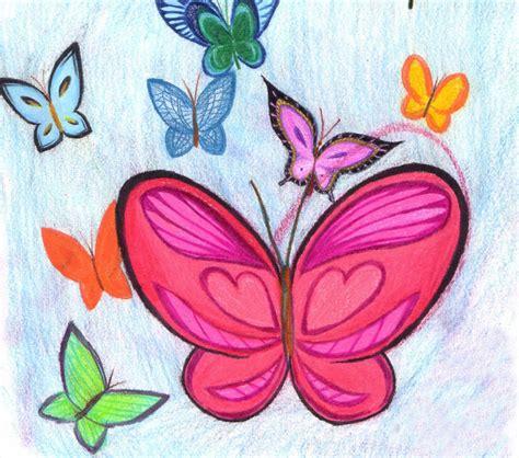 imagenes no realistas artes visuales para dibujar dibujos infantiles de mariposas im 225 genes de mariposas