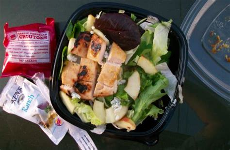 Backyard Burger Grilled Chicken Salad What To Eat At Every Major Fast Food Chain If You Re