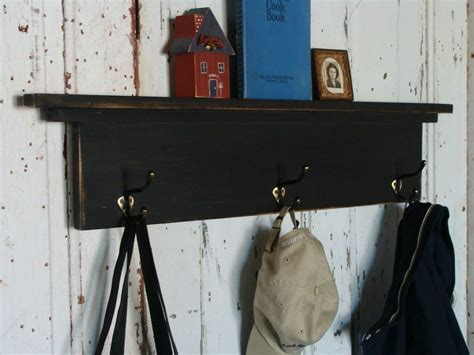 Coat Hooks For Entryway wall shelf with coat hooks entryway