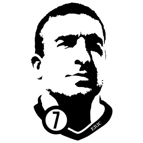 Aaf Cantona 1 T Shirt eric cantona t shirt spielraum