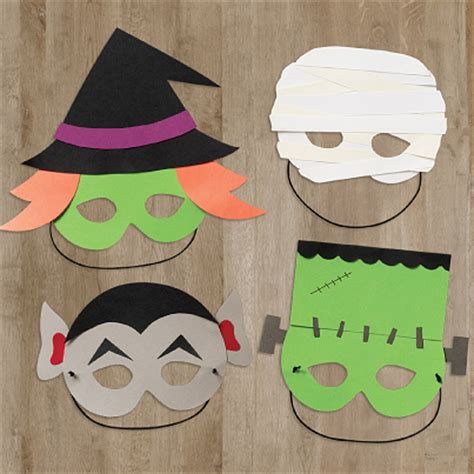 How To Make Scary Masks Out Of Paper - scary spooky crafty kooky ideas