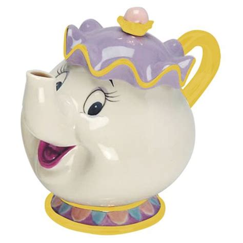 beauty and the beast pot beauty and the beast mrs potts sculpted ceramic teapot
