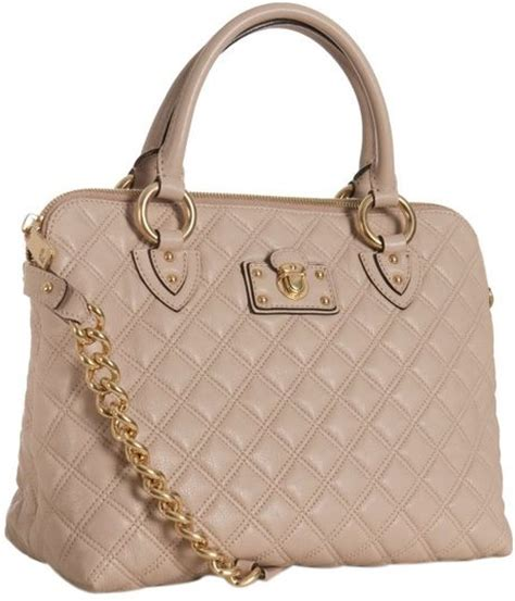 Marc Quilted Stella by Marc Blush Quilted Leather The Standard Shoulder